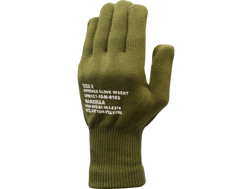 Military Surplus USMC Glove Insert Olive Drab