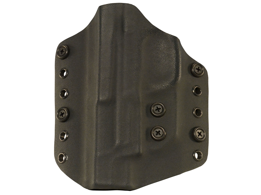 Lenwood Leather Wraith Belt Holster Glock 19,23,32 Kydex