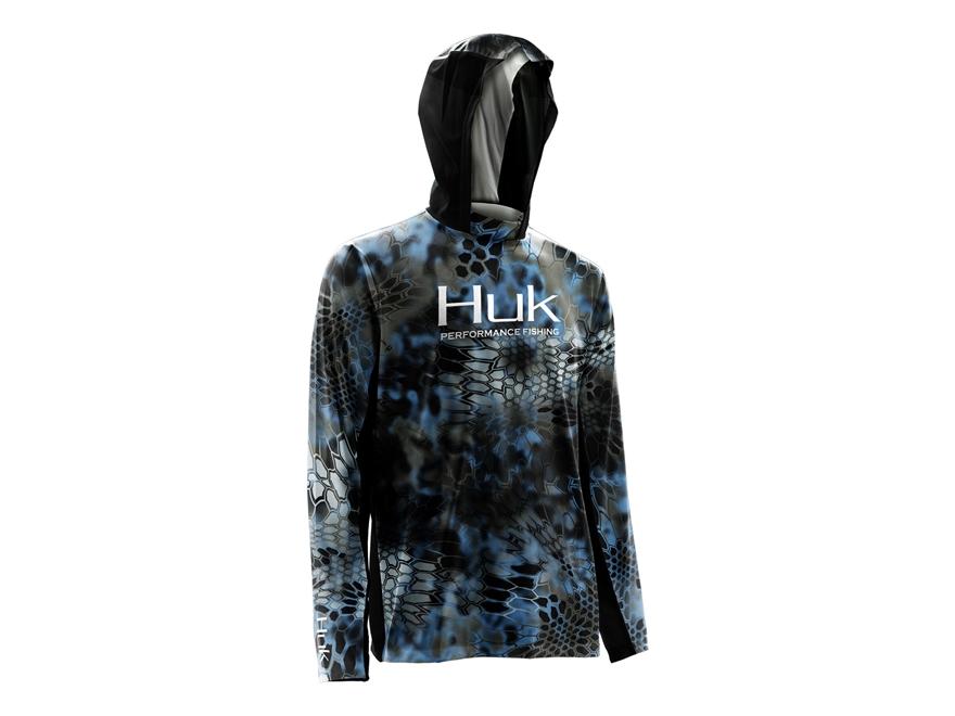 Huk Men's Kryptek Icon Performance Hoodie Polyester and Spandex