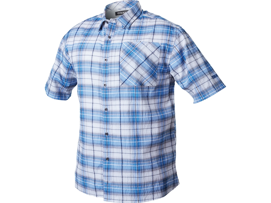 BLACKHAWK! Men's 1700 Button-Up Shirt Short Sleeve Cotton/Polyester/Lycra