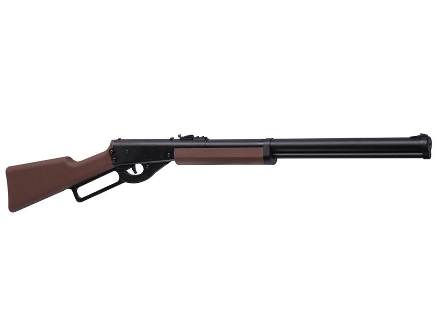 Marlin Classic Lever Action Air Rifle 177 Caliber BB Black Polymer Stock Matte Barrel