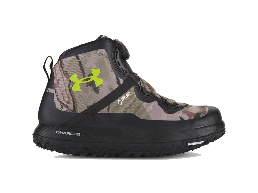 "Under Armour UA Fat Tire GORE-TEX 7"" Waterproof Hiking Boots Synthetic Men's"