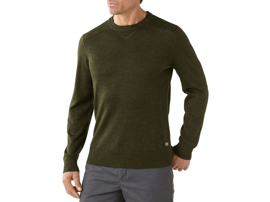 Smartwool Men's Kiva Ridge Crew Shirt Long Sleeve Merino Wool