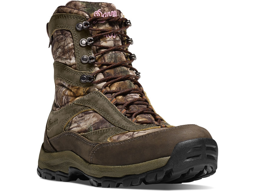 "Danner High Ground 8"" 1000 Gram Insulated Waterproof Hunting Boots Leather and Nylon Re..."