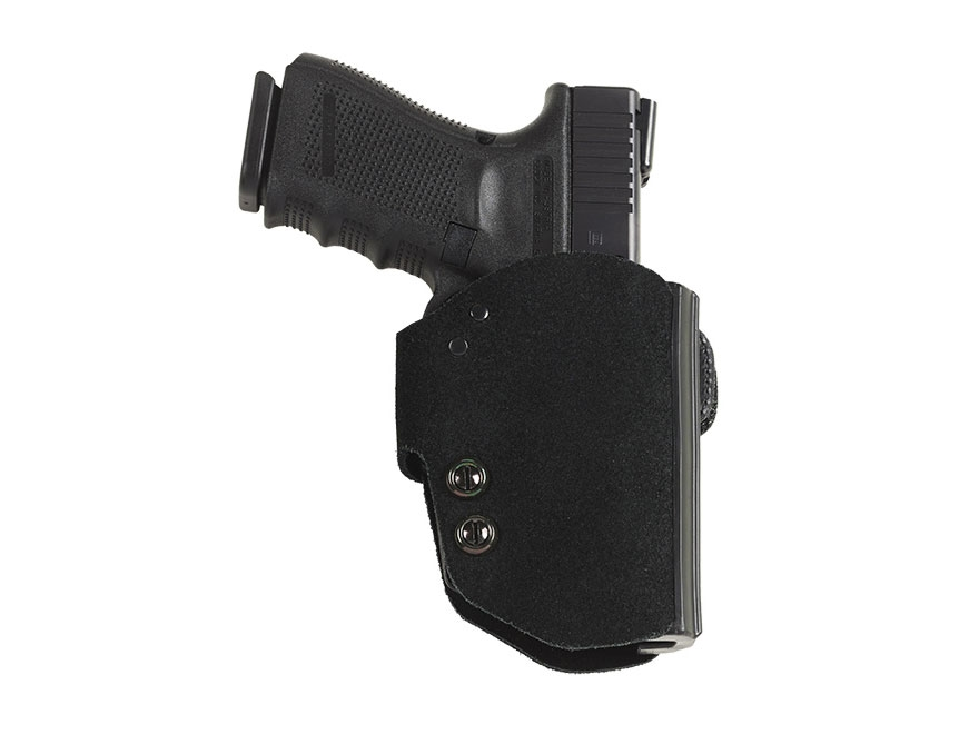 Galco BlakGuard Belt Holster Right Hand FN FNS 9mm, 40 S&W Polymer and Leather Black