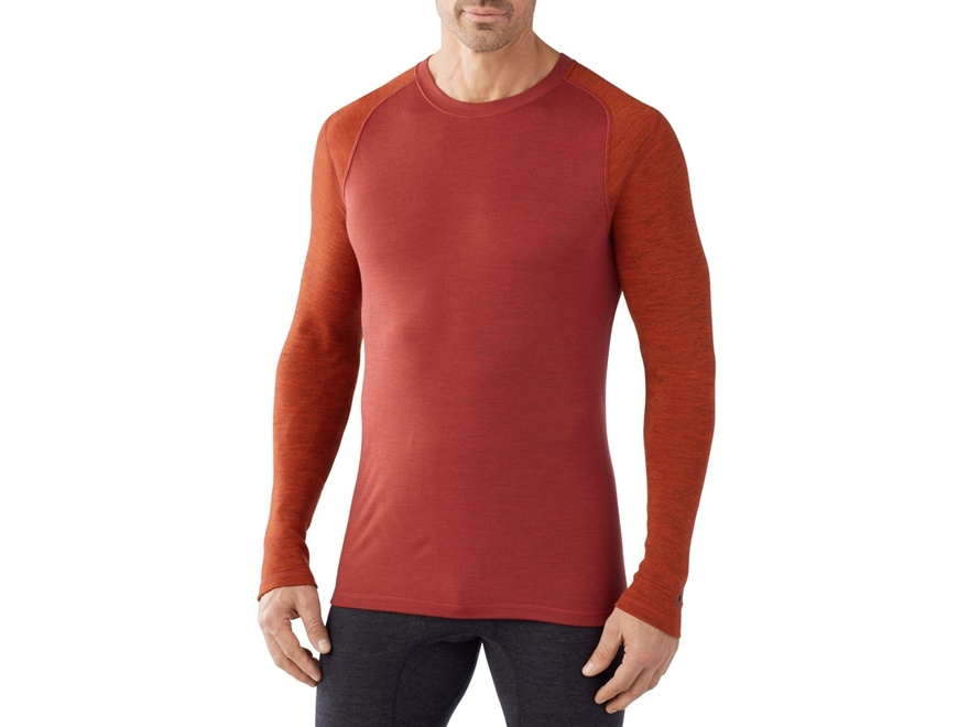 Smartwool Men's NTS Mid 250 Pattern Crew Base Layer Shirt Shirt Long Sleeve Merino Wool