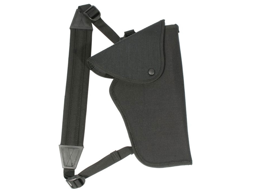 BLACKHAWK! Bandolier Scoped Pistol Holster Right Hand Medium, Large Double Action Revol...