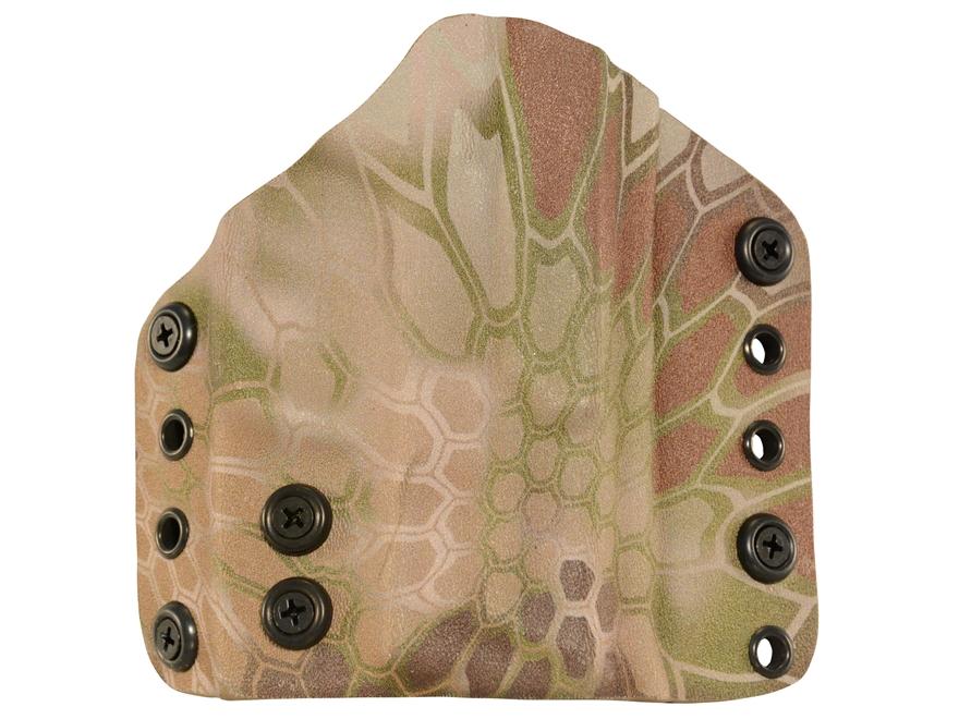 Lenwood Leather Wraith Belt  Holster Glock 26, 27, 33 Kydex