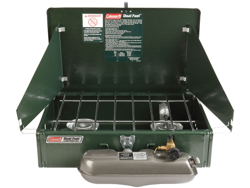 Coleman 2-Burner Dual Fuel Camp Stove