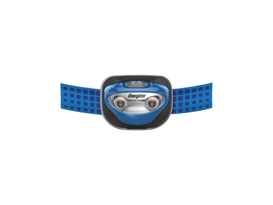 Energizer Vision Headlamp LED with 3 AAA Batteries Polymer Blue
