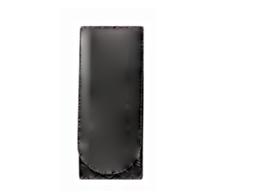 Bianchi 7906 Elite Belt Keeper Hidden Snap Basketweave Synthetic Leather Black Package ...