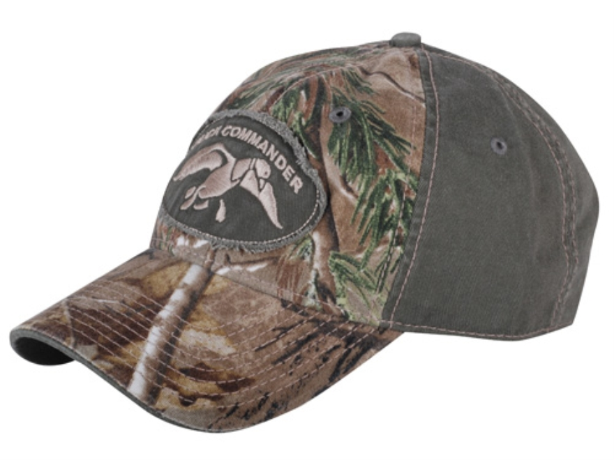 Duck Commander 2-Tone Camo Logo Cap Realtree AP Camo and Green