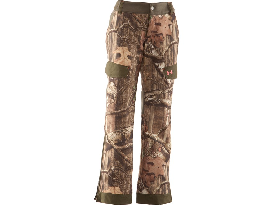 Under Armour Women's Ayton Fleece Pants Polyester Mossy Oak Break-Up Infinity Camo XL (...