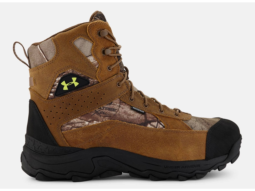 "Under Armour UA Speed Freek Bozeman 7"" Waterproof 600 Gram Insulated Hunting Boots Leat..."