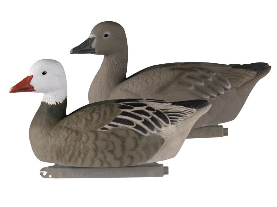 GHG Pro-Grade Active Floater Blue Goose Decoy Pack of 4