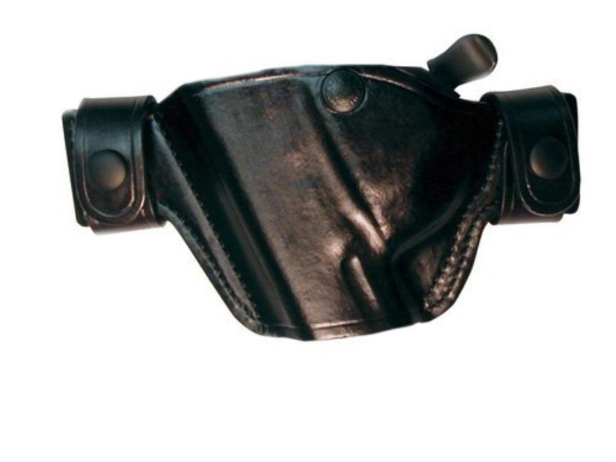 Bianchi 84 Snaplok Holster Left Hand 1911 Officer Leather Black