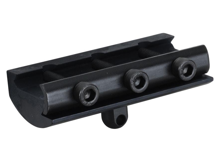 DoubleStar Picatinny Rail Mounted Bipod Adapter AR-15 Aluminum Matte