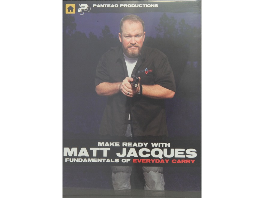 "Panteao ""Make Ready with Matt Jacques:  Fundamentals of Everyday Carry"" DVD"