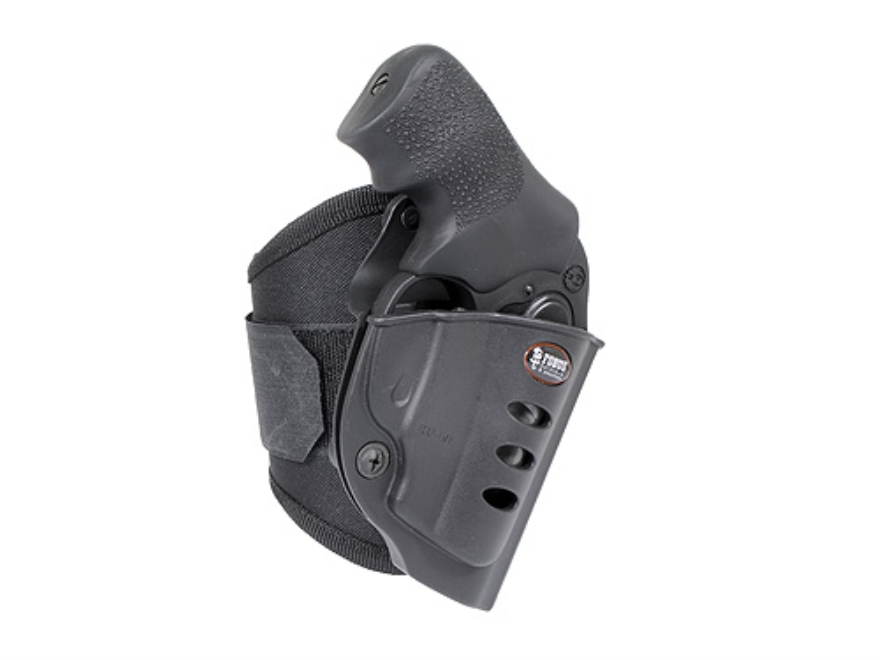 Fobus Ankle Holster Right Hand Ruger SP101 Polymer Black