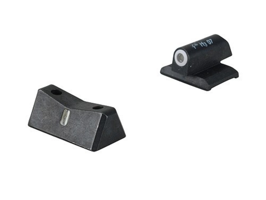 XS DXT Express Night Sight Set 1911 Novak Front Cut and Standard Rear Cut Steel Matte T...