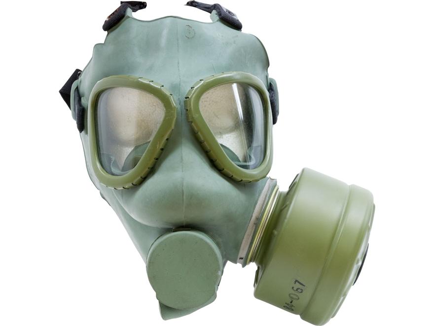 Military Surplus Serbian Gas Mask Grade 2