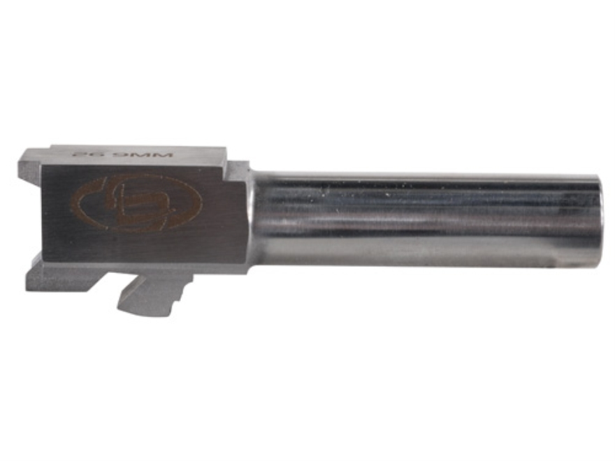 "Storm Lake Barrel Glock 26 9mm Luger 1 in 16"" Twist 3.46"" Stainless Steel"