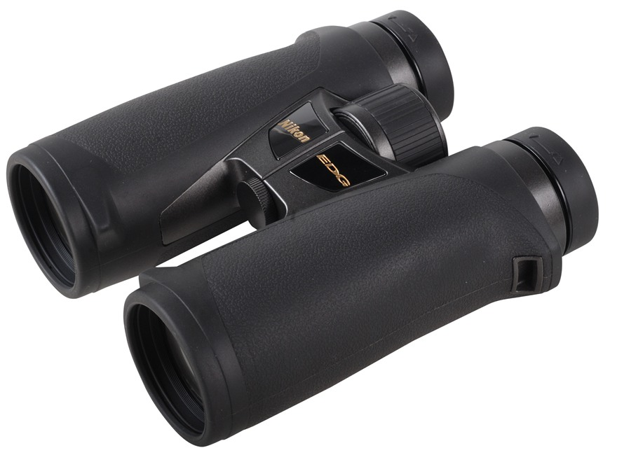 Nikon EDG Binocular 10x 42mm Roof Prism Rubber Armored Black