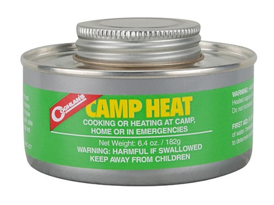Coghlan's Camp Heat 6.4 oz Pack of 2