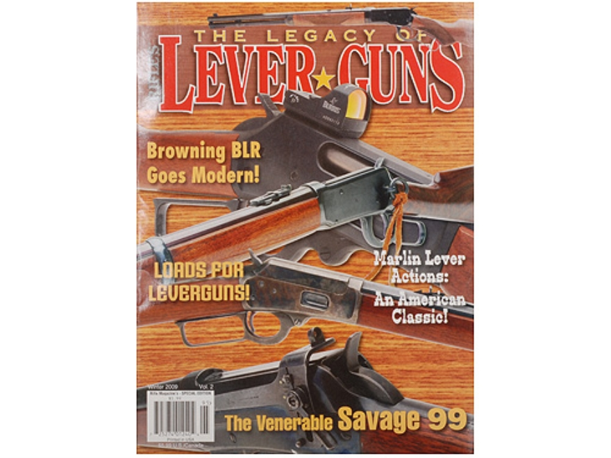 """The Legacy of Lever Guns Volume 2"" Special Edition Magazine By Rifle Magazine"