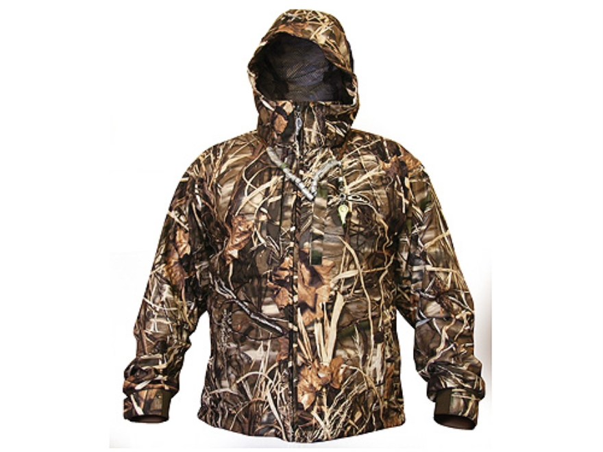 Drake Men's EST Heat-Escape Full Zip Jacket Waterproof Polyester Realtree Max-4 Camo XL