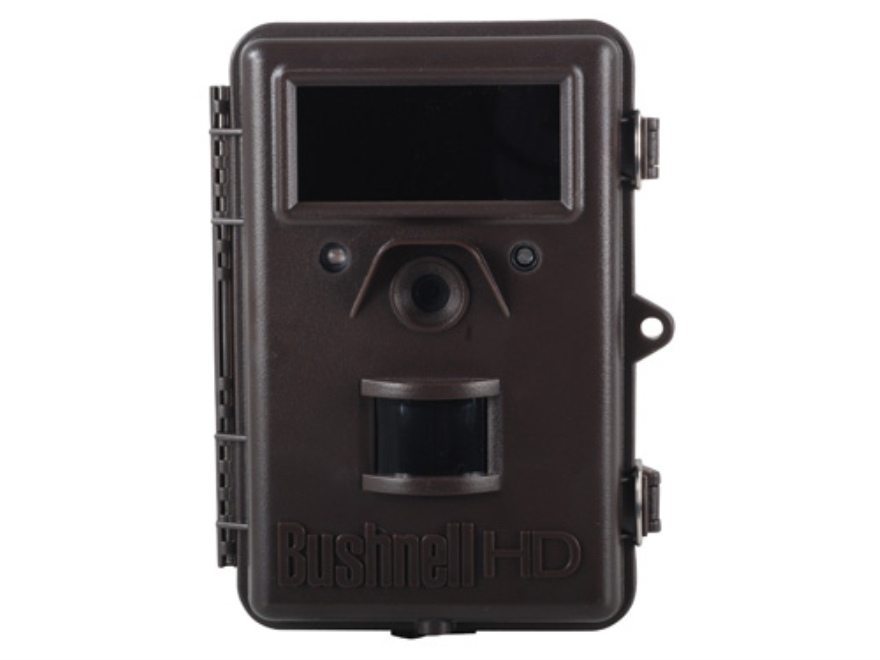 Bushnell Trophy Cam HD Max Black Flash Infrared Game Camera 8.0 Megapixel Brown