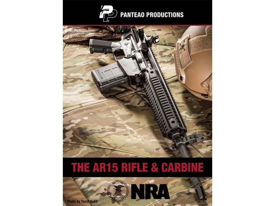 "Panteao ""The AR-15 Rifle & Carbine with Kyle Harth"" DVD"