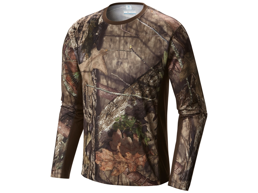 Columbia Men's Stealth Shot III Zero Shirt Long Sleeve Polyester