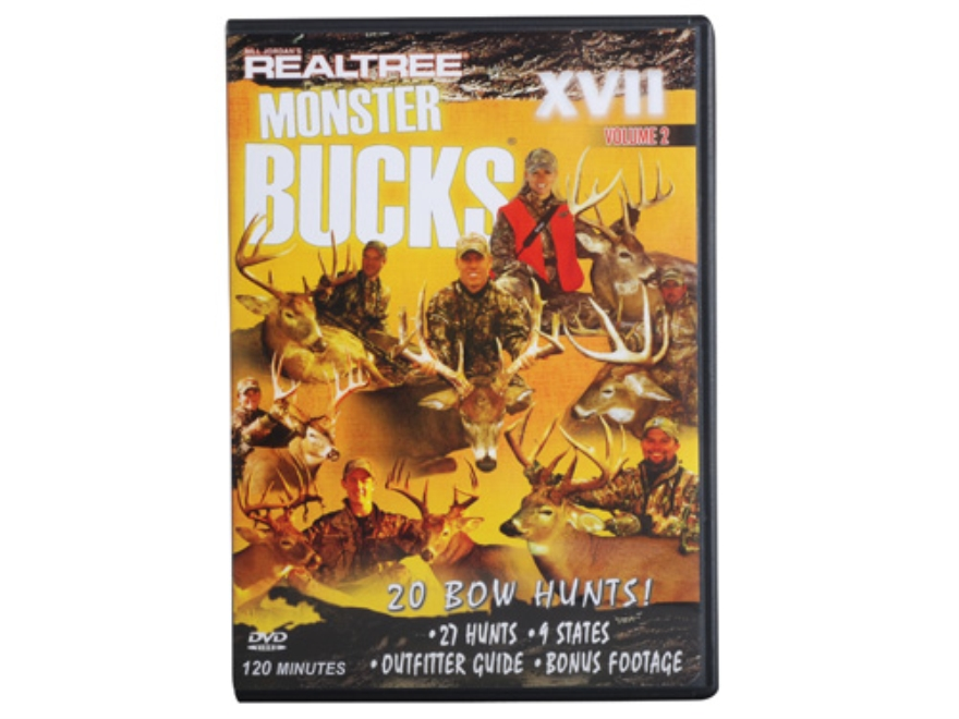 Realtree Monster Bucks 17 Volume 2 Video DVD