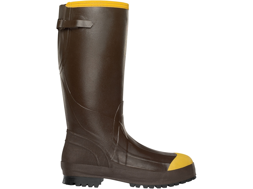 """LaCrosse Alpha Aggressive 16"""" Waterproof 3.5mm Uninsulated Steel Toe Work Boots Rubber ..."""