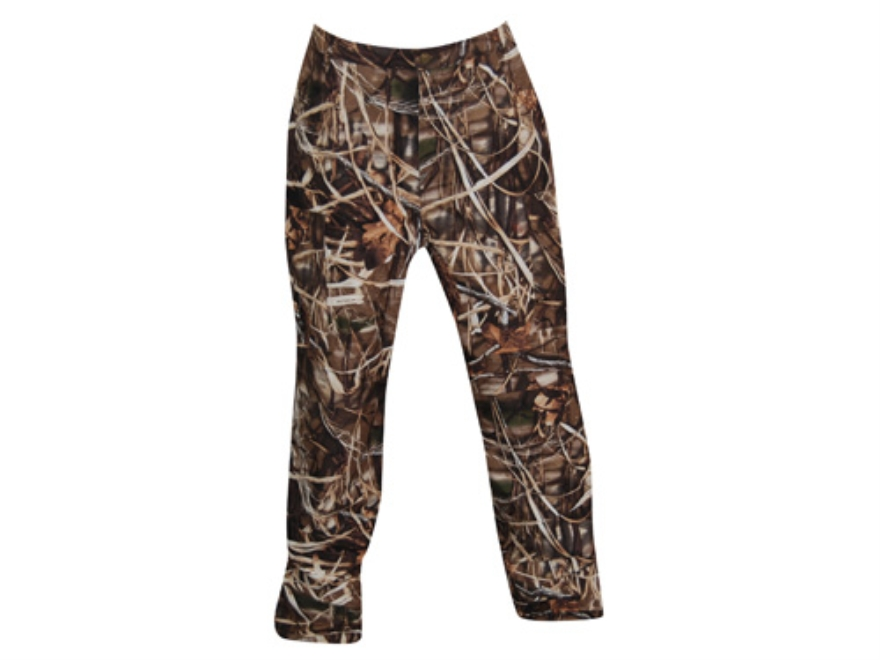 Drake Men's EST 6 Pocket Pants Waterproof Polyester Realtree Max-4 Camo Large