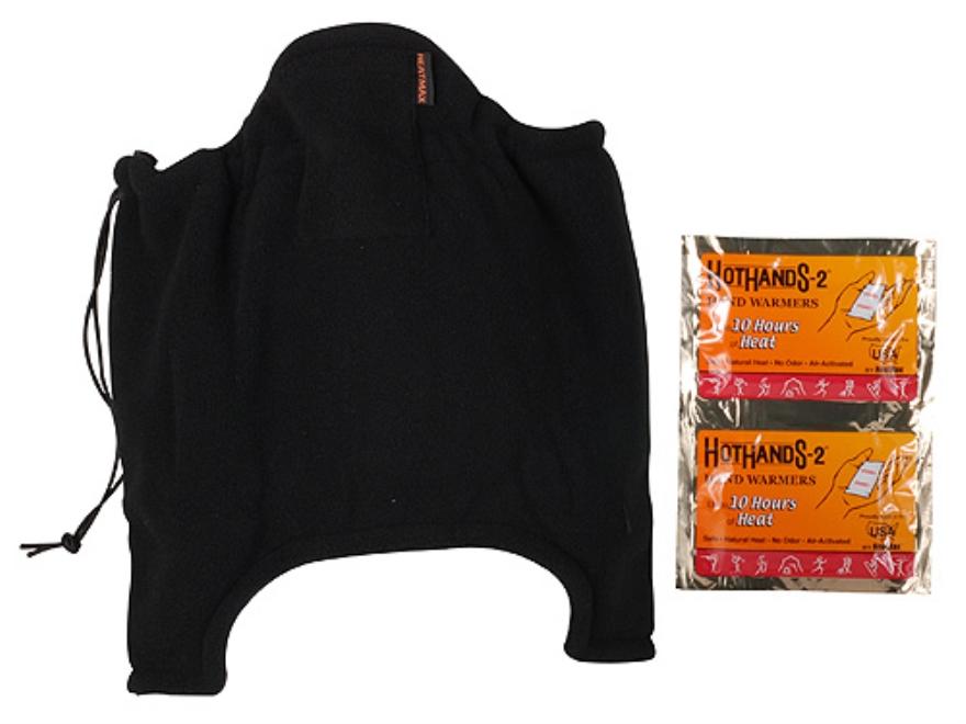 HeatMax Heated Neck Gaiter Synthetic Blend Black