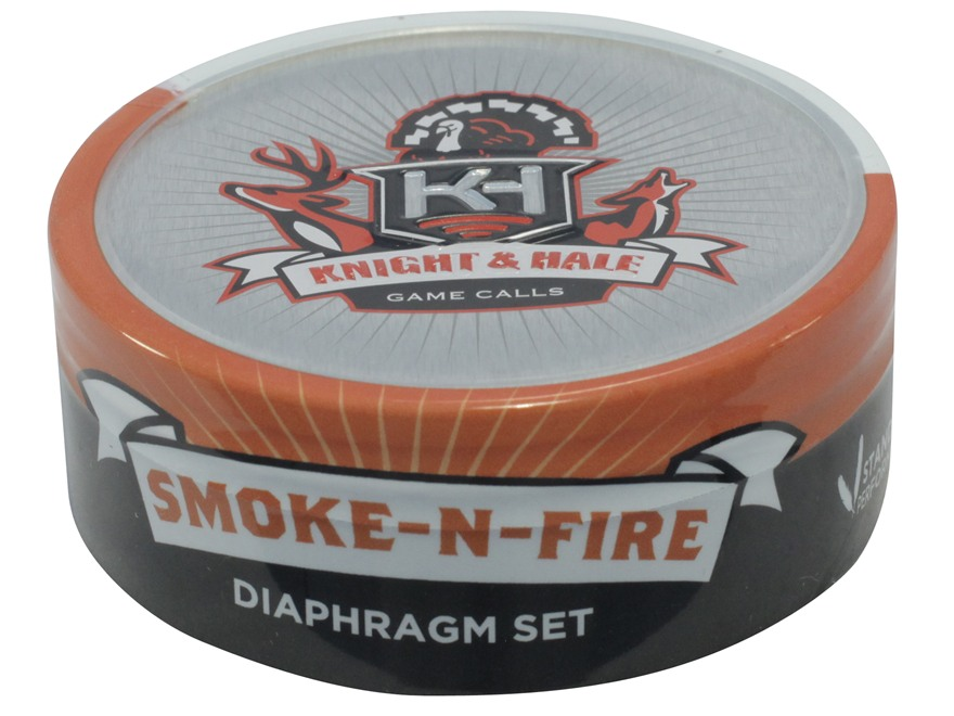 Knight & Hale Smoke-N-Fire Diaphragm Turkey Call 2 Pack
