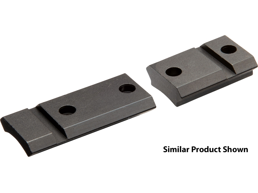 Nikon S-Series 2-Piece Steel Weaver-Style Scope Base Weatherby Mark V Matte Steel