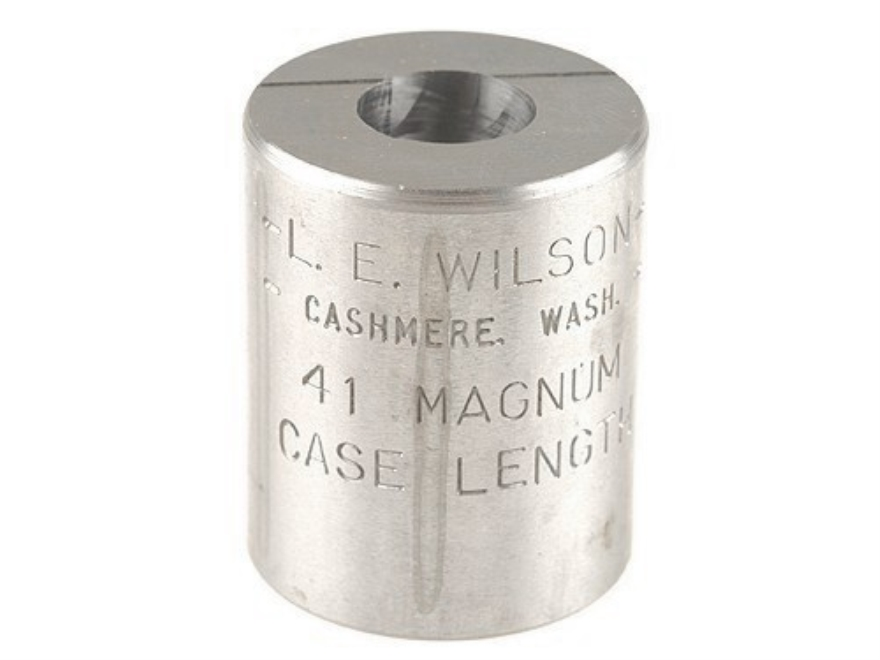 L.E. Wilson Case Length Gauge 41 Remington Magnum