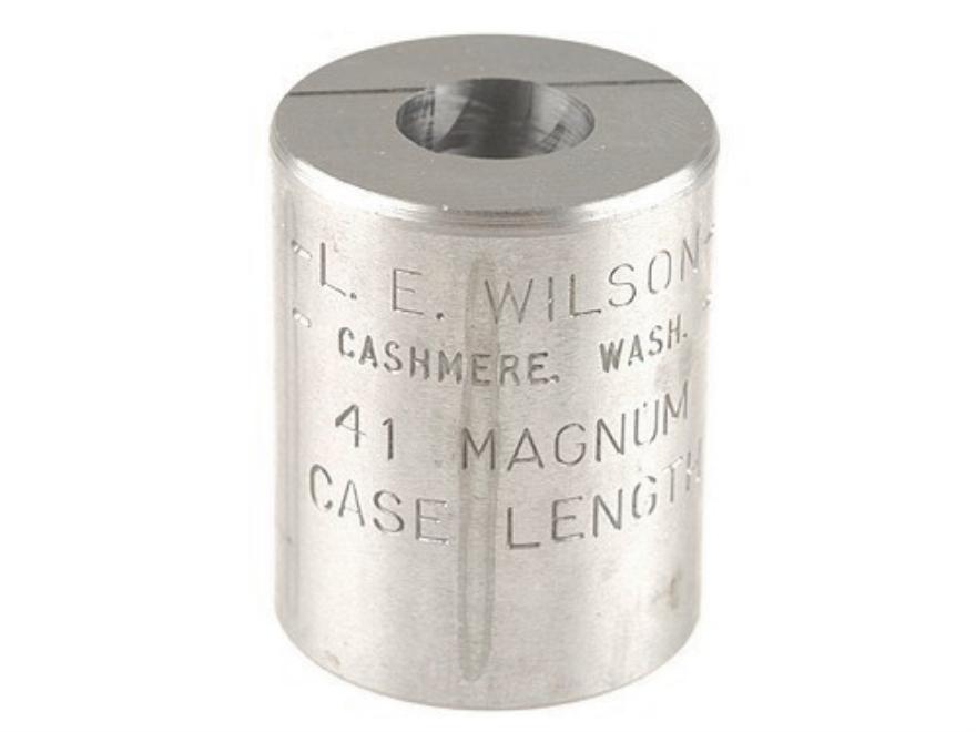L.E. Wilson Case Length Gauge 41 Remington Magnum