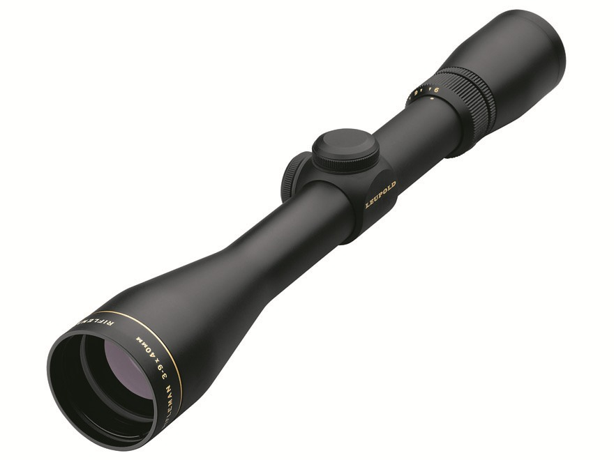 Leupold Rifleman Rifle Scope 3-9x 40mm Matte