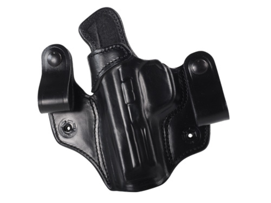 DeSantis Mad Max Tuckable Inside the Waistband Holster Smith & Wesson M&P 9, 40 Leather