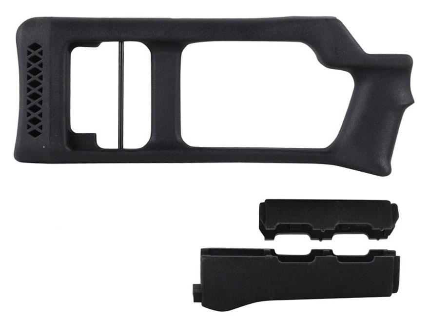 Choate Dragunov Stock and Handguard Hungarian AK-47 Synthetic Black
