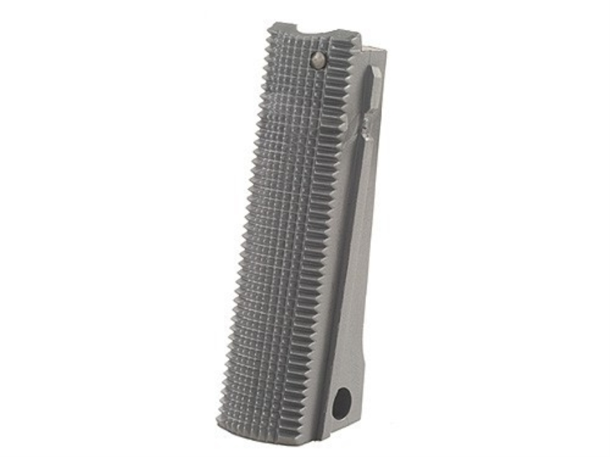Kimber Mainspring Housing Flat 1911 Government, Commander Checkered 20 LPI Polymer