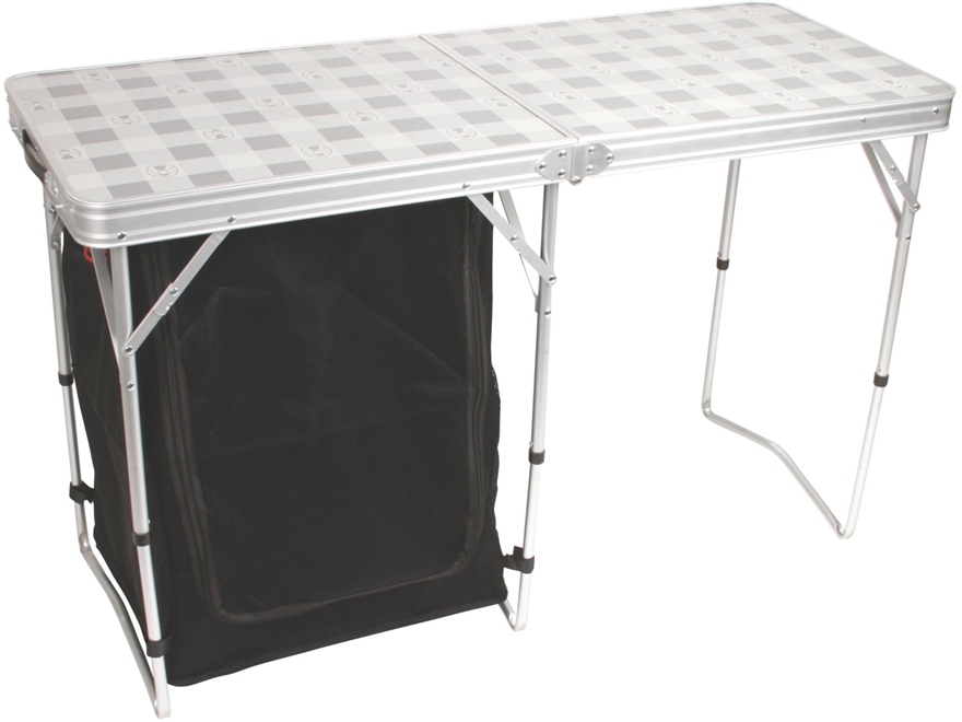 Coleman Store-More Cupboard Camp Table Aluminum