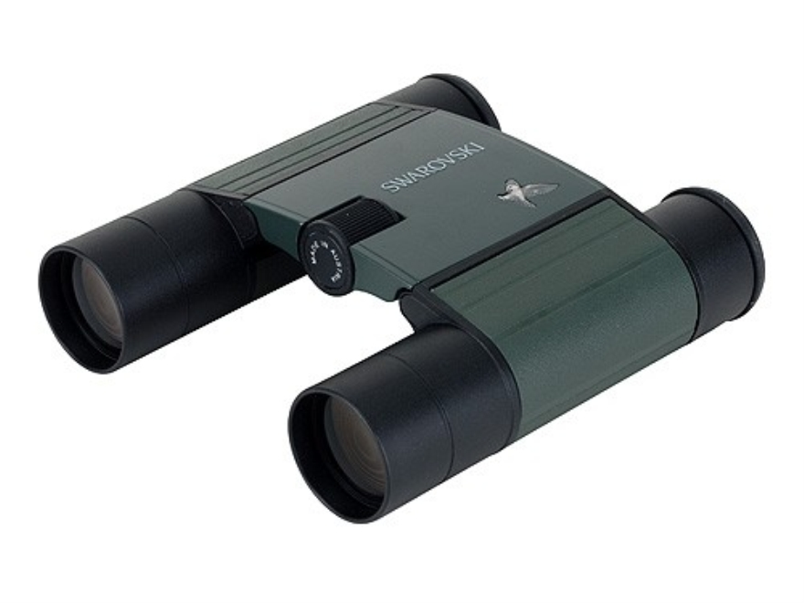 Swarovski Pocket Binocular 10x 25mm Roof Prism Green