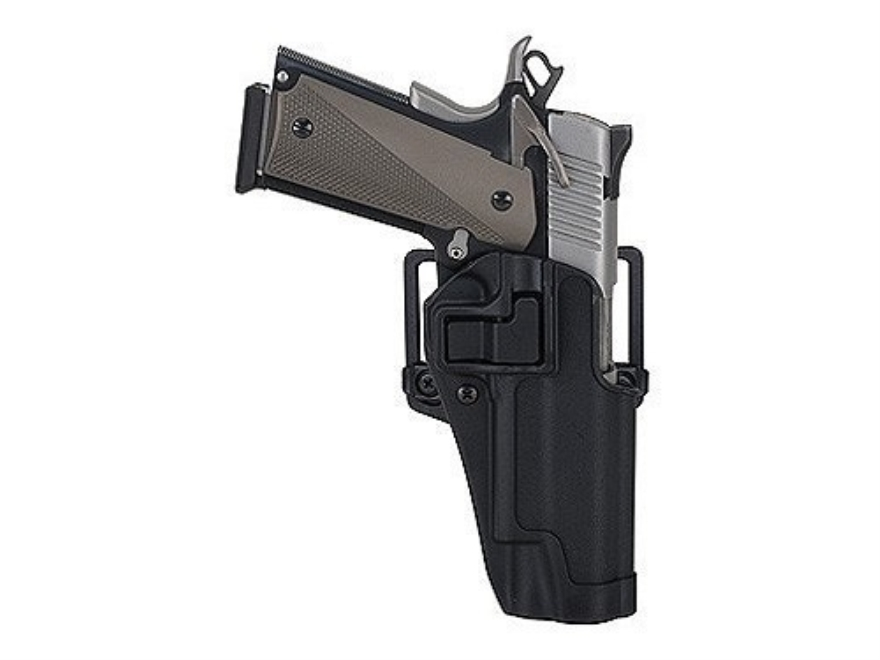 "BLACKHAWK! CQC Serpa Holster Right Hand Taurus Judge Steel Frame 2.5"" Chamber Polymer B..."