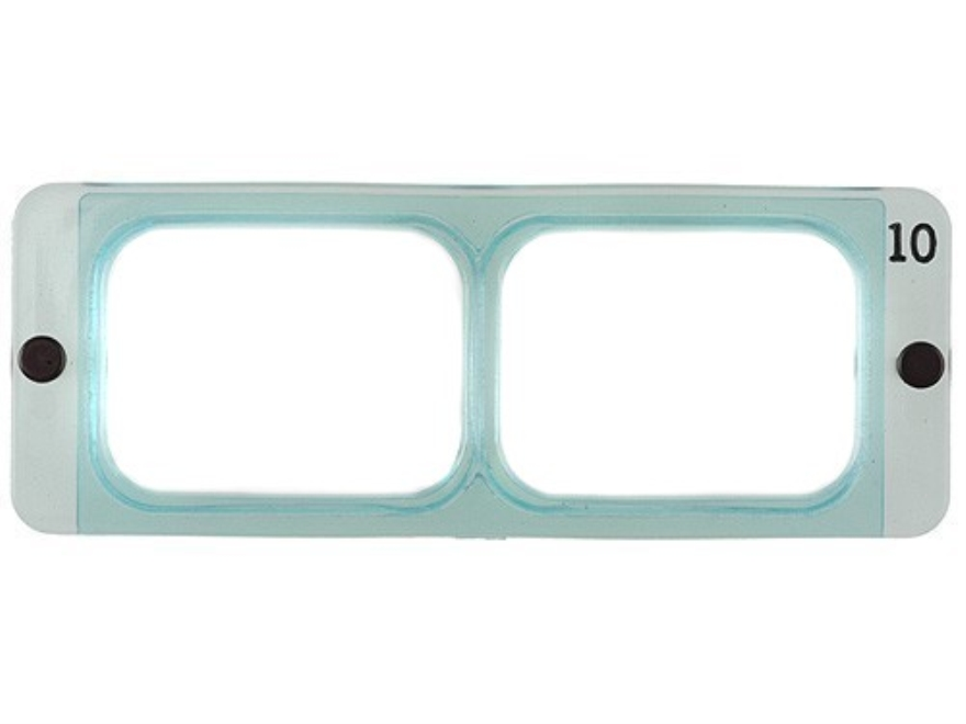 Donegan Optical OptiVISOR Magnifying Headband Visor Replacement Lens Plate 3-1/2X at 4""