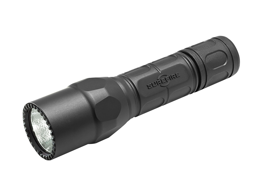 Surefire G2X Law Enforcement Flashlight LED with 2 CR123A Batteries Polymer and Aluminu...